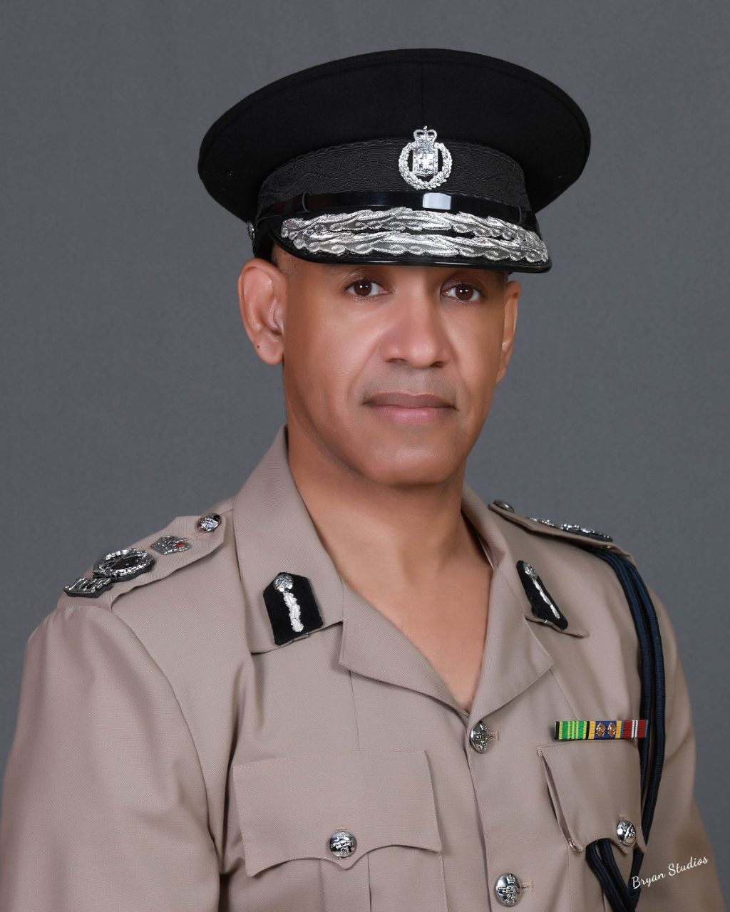 Commissioner of Police, Major General Antony Anderson